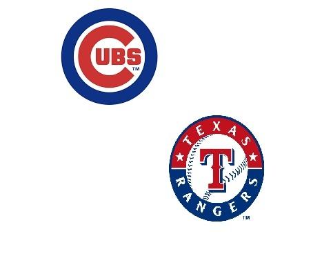 Image result for rangers vs cubs